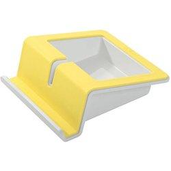 Tablet Stand UP i-Colour gelb aus hochwertigem ABS-Kunststoff