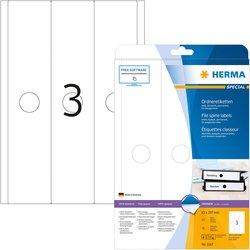 Etikett Papier A4 63x297mm 75St weiß