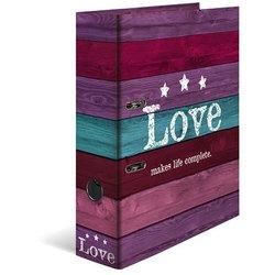 Motivordner A4 80mm Love