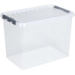 Aufbewahrungsbox Kunststoff 62L transparent