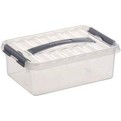 Aufbewahrungsbox Kunststoff 4L transparent