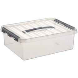 Aufbewahrungsbox Kunststoff 10L transparent