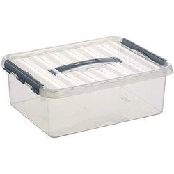 Aufbewahrungsbox Kunststoff 12L transparent