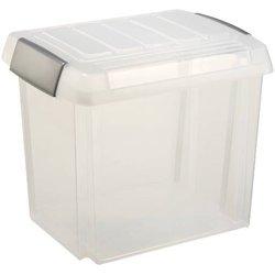 Aufbewahrungsbox Kunststoff 50L transparent