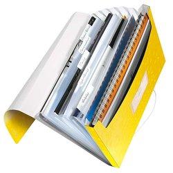 WOW Projektmappe, 5 Fächer, gelb