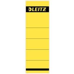 Rückenschildetiketten selbstklebend breit/kurz gelb