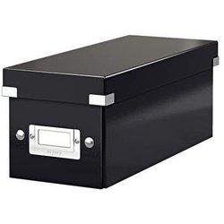 Archivbox Karton CD schwarz