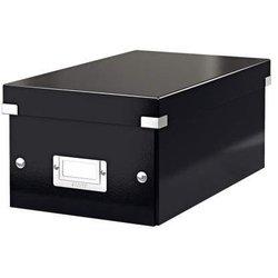 Archivbox Karton DVD schwarz