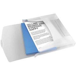 Ablagebox Esselte 624050 VIVIDA A4 PP 40mm weiß