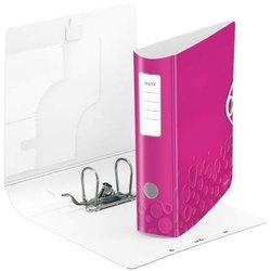 Ordner Polyfoam Active WOW A4 80mm pink metallic
