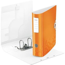 Ordner Polyfoam Active WOW A4 80mm orange metallic