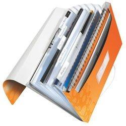 Projektmappe A4 WOW,PP,5 Fächer,orange