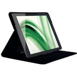 Slim Folio Schutzhülle mit Blick- schutzfilter für iPad Air 2, schwarz.