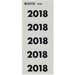 Rücken-Inhaltschild Jahreszahlen 2018 gr