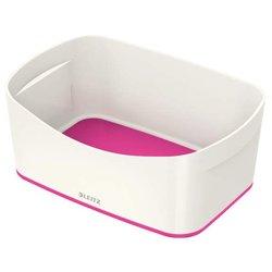 MyBox Aufbewahrungsschale, weiß/pink