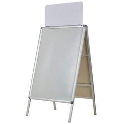 Topschild für Plakatständer A1 wetterf.