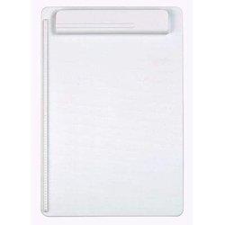 Schreibplatte Kunststoff A4 weiß