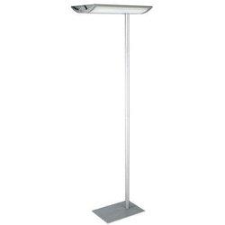 Standleuchte MAULnaos 190cm si Energiespar-Leuchte 2x55Watt