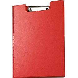 Schreibplatte Karton A4 rot