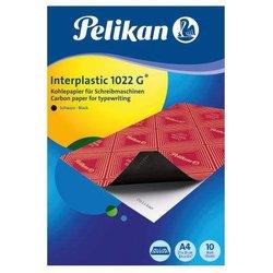 Kohlepapier interplastic A4 schwarz 10Bl