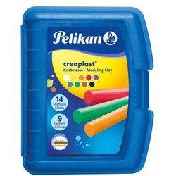 Kinderknete Creaplast blaue Kunststoffbox