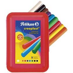 Kinderknete Creaplast rote Kunststoffbox