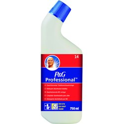 P&G Professional Desinfizierender WC-Reiniger, rot 14.