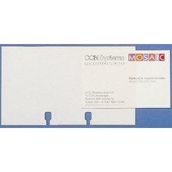 Rollkartei-Ersatzhüllen Polypropylen 40St transparent