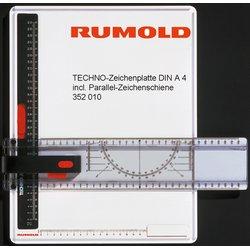 Zeichenplatte Rumold Techno A4 incl. Parallel-Zeichenschiene