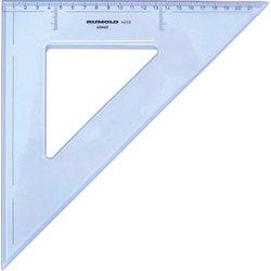 Zeichendreieck 45° 32 cm mm Teilung hochwertiger Kunststoff