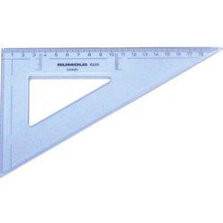 Zeichendreieck 60° 20 cm mm Teilung hochwertiger Kunststoff