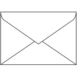 Briefumschlag DIN C6 100g 50St weiß