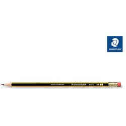 Bleistift Noris Härtegrad HB mit Radiertip