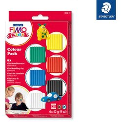 Modelliermasse Set Fimo kids basic 6 Farben 42g