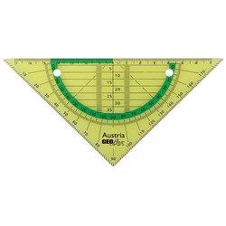 Flex-Geometrie-Dreieck 16cm neon-grün