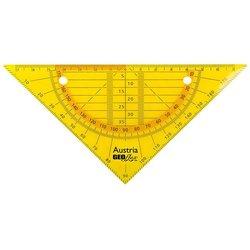 Flex Geometrie Dreieck 16cm neon orange