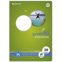 Schulheft Green 90g A4 16Bl #20