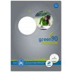Hausaufgabenheft Green 90g A5 48Bl