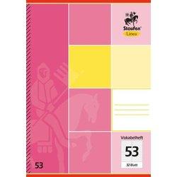 Vokabelheft Linea 11653 70g A5 32Bl