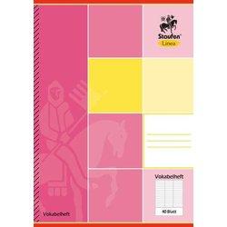 Vokabelheft Linea 11857 70g A5 40Bl 3 Spalten