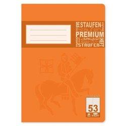Vokabelheft Staufen 10453 Premium Academy 90g A4 24Bl