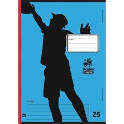 Schulheft A4/16 Blatt 80g Linea LIN 25 # 11525