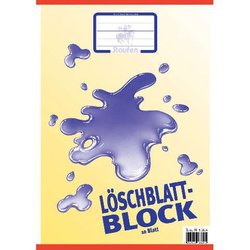 Löschblattblock A4 10Bl