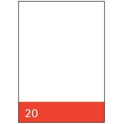 Kanzleipapier Staufen 50920 Original 80g A3/A4 #20 blanko