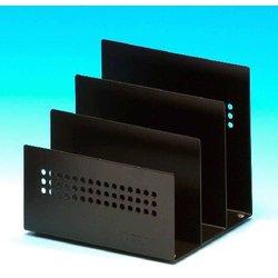 Briefständer Wedo 68301 Novum Metall 3 Fächer schwarz