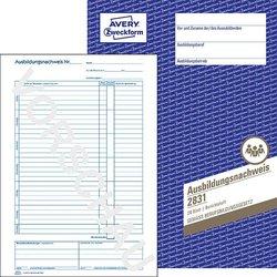 Ausbildungsnachweis 80g A4 wochntliche Eintragung 28Bl