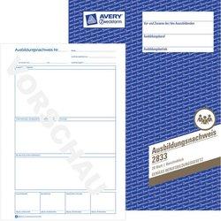 Ausbildungsnachweis (Berichtsblock) A4, 28 Blatt Vordrucke zur wahl-