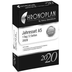 Chronoplan Jahresset A5 2020