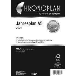 Chronopl. A5 Kalen. Jahresplan 2021