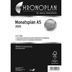 Chronoplan Monatsplan A5 2020
